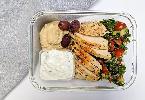 meal prep mediterranean chicken (3)