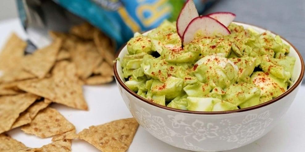 high protein snacks avocado egg salad