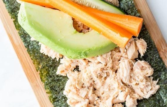tuna salad protein paleo snack