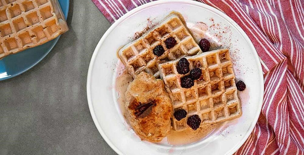 protein chicken and waffles recipe (12)-2