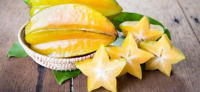 sliced starfruit