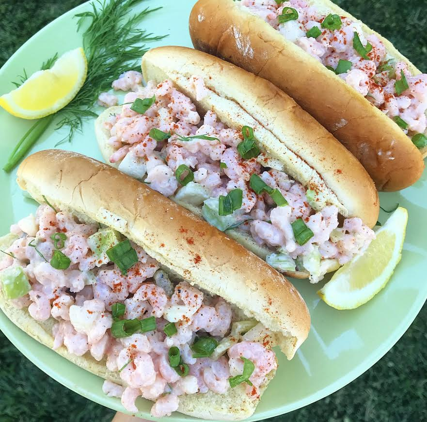 New-England Shrimp Rolls