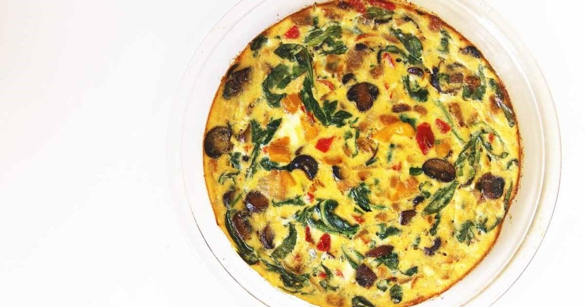 vegetable-egg-white-frittata-recipe