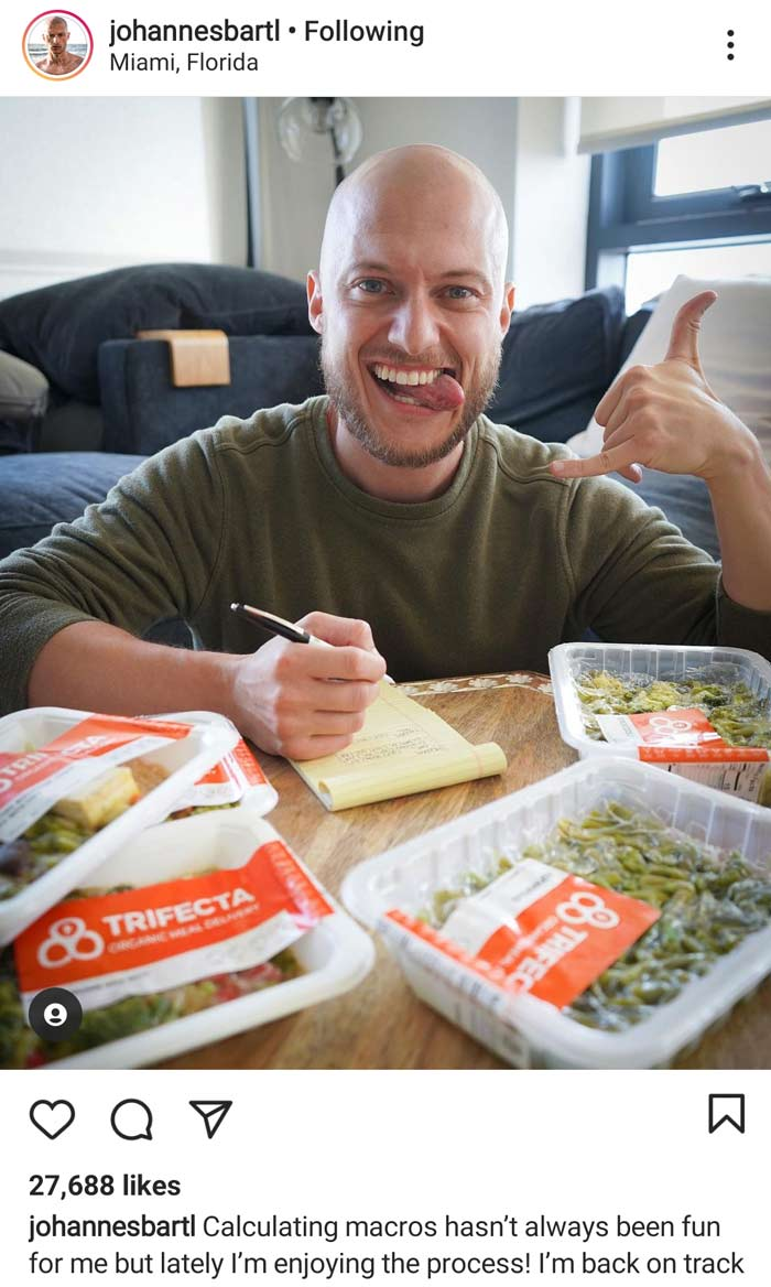 plant based Trifecta review johannes bartl