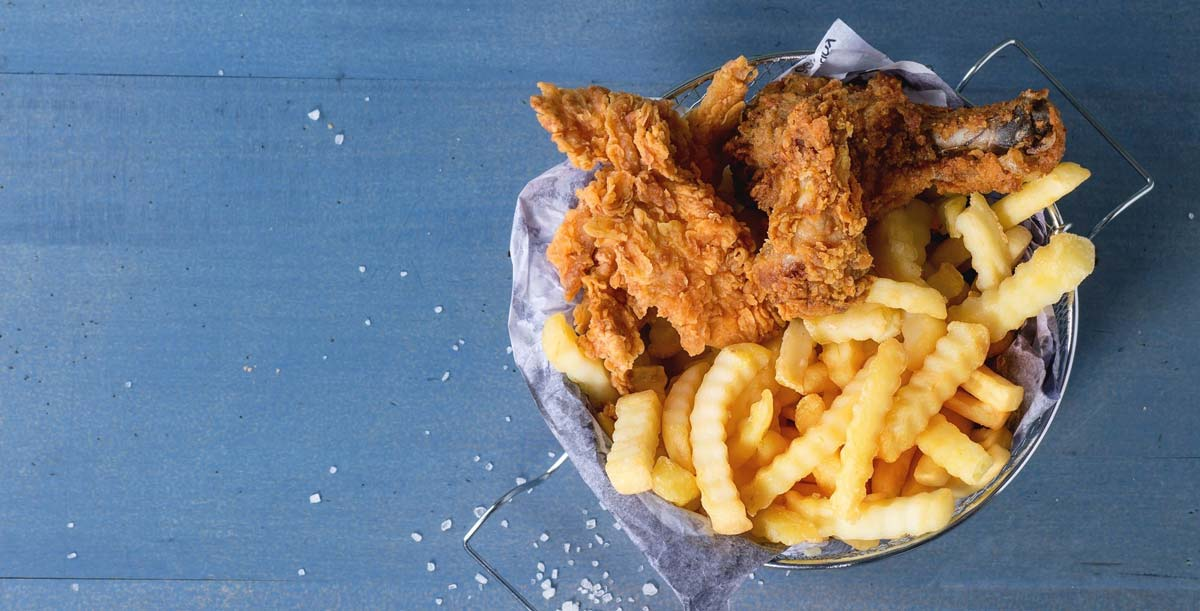 35 Foods That Cause Inflammation: Should You Avoid Them? - Basket Fried Chicken and Fries