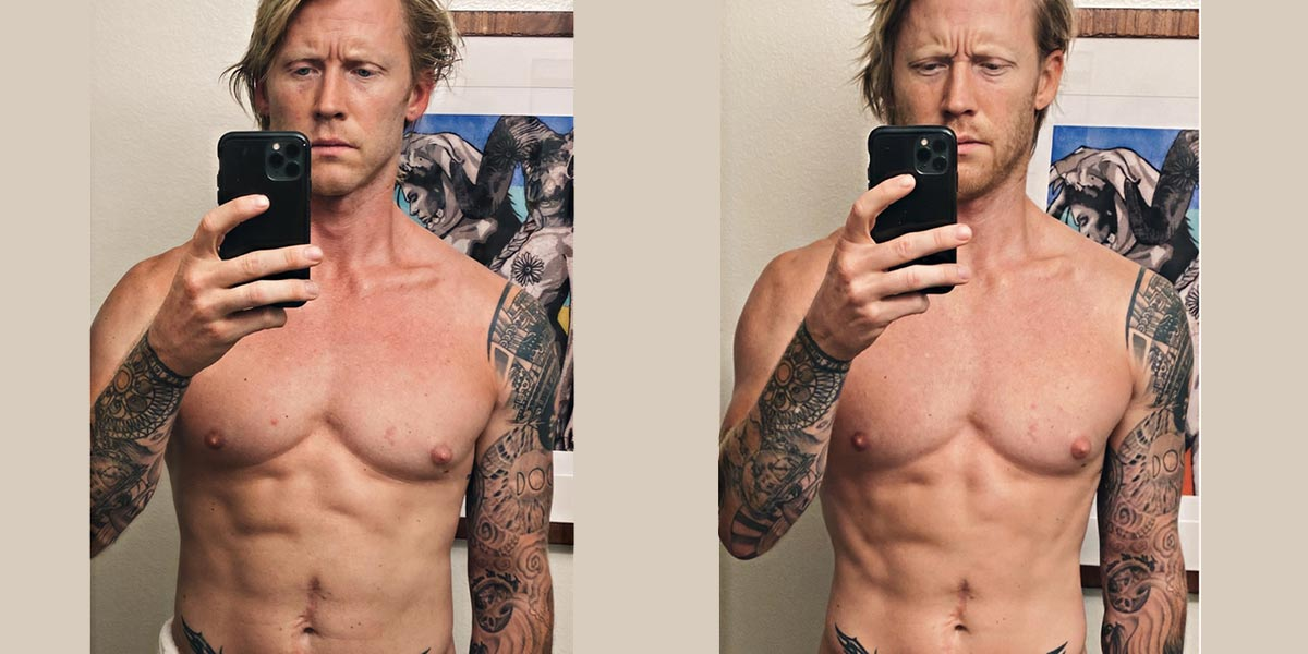 The Trainer That Tries Everything, Tests Trifecta Clean Eating before and after photo