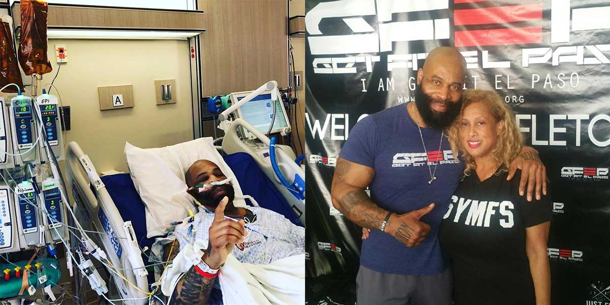 CT Fletcher Before and After Trifecta Heart Transplant