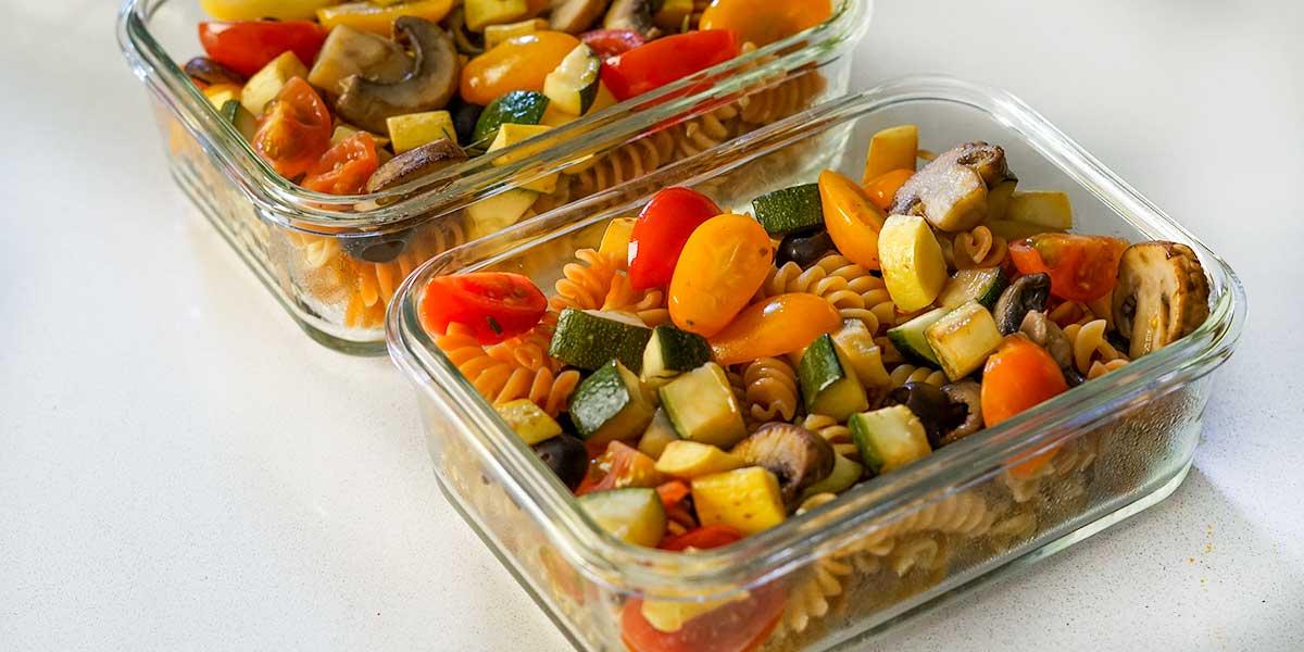 Vegan High Protein Veggie Pasta Recipe
