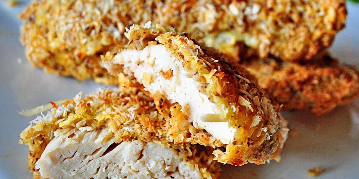 Keto Coconut Cashew Fried Chicken Recipe