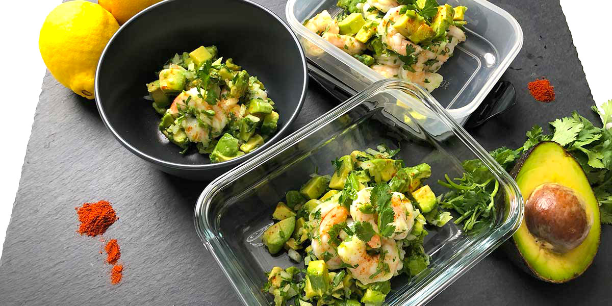 Keto Shrimp Avocado Salad Recipe
