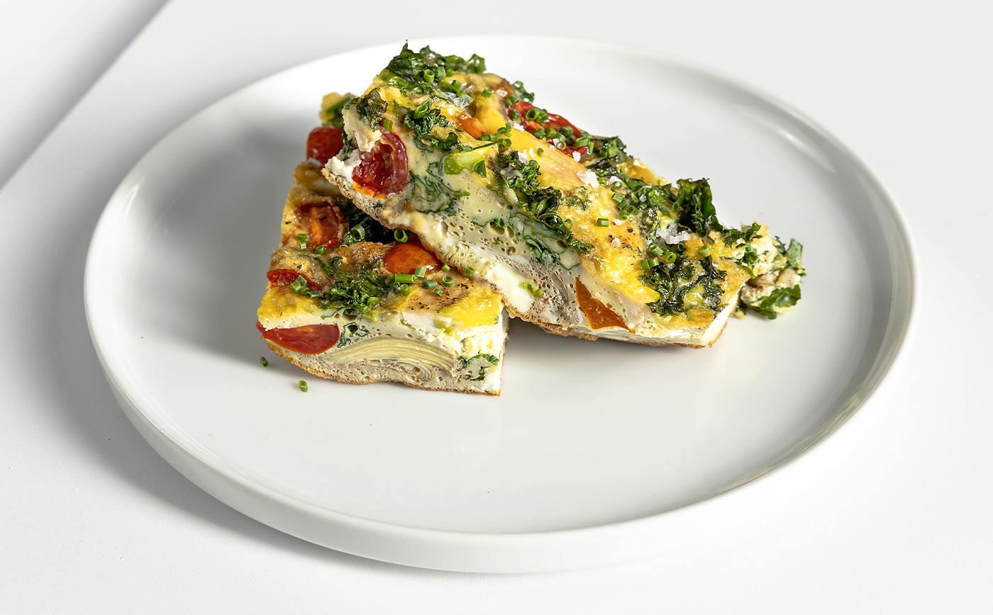 Clean Meal Delivery Free Range Egg Breakfast Frittata