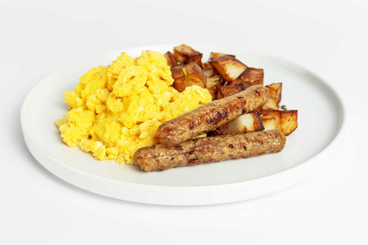 Paleo Meal Free Range Egg Scramble