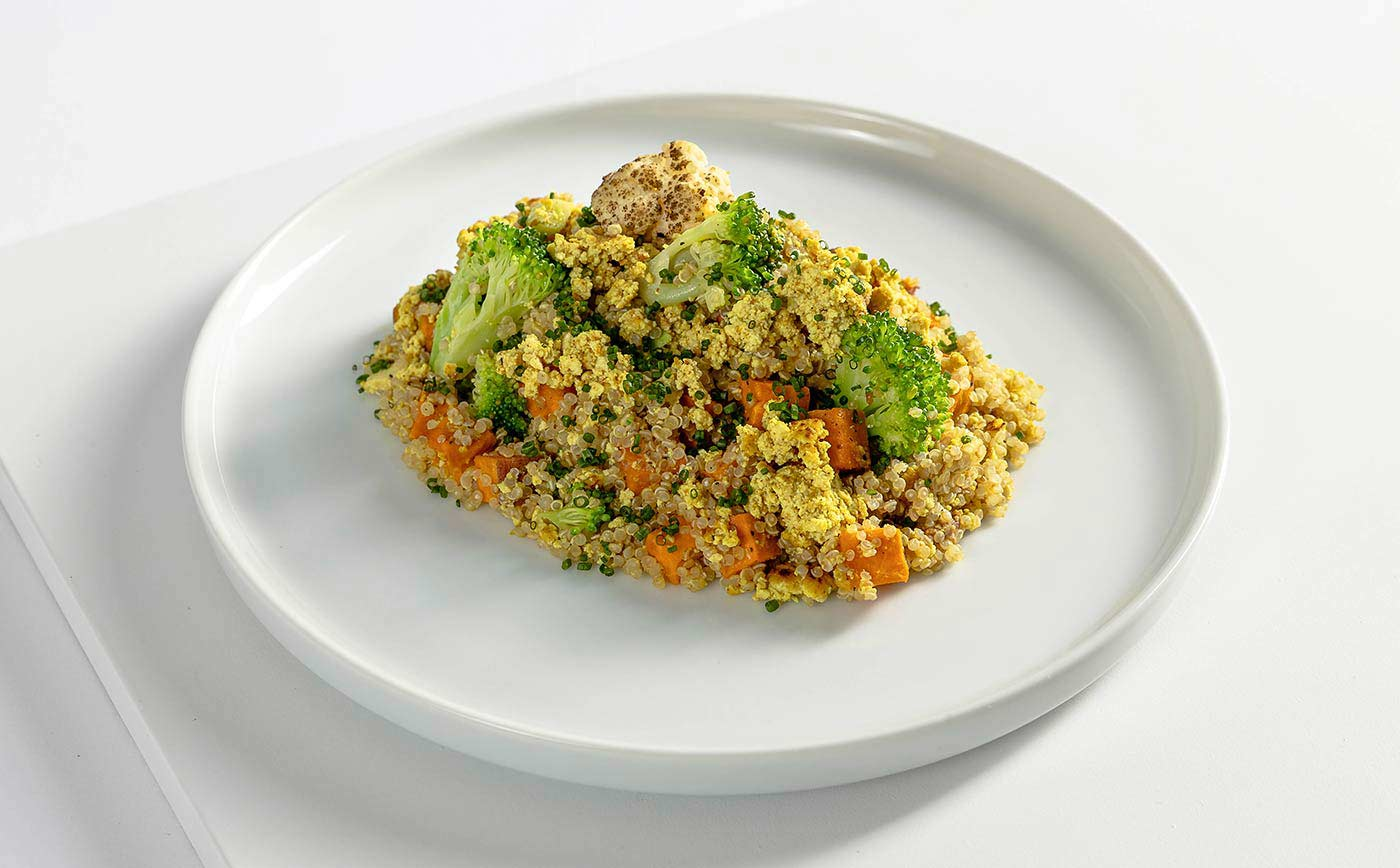 Vegetarian Meal Curried Quinoa