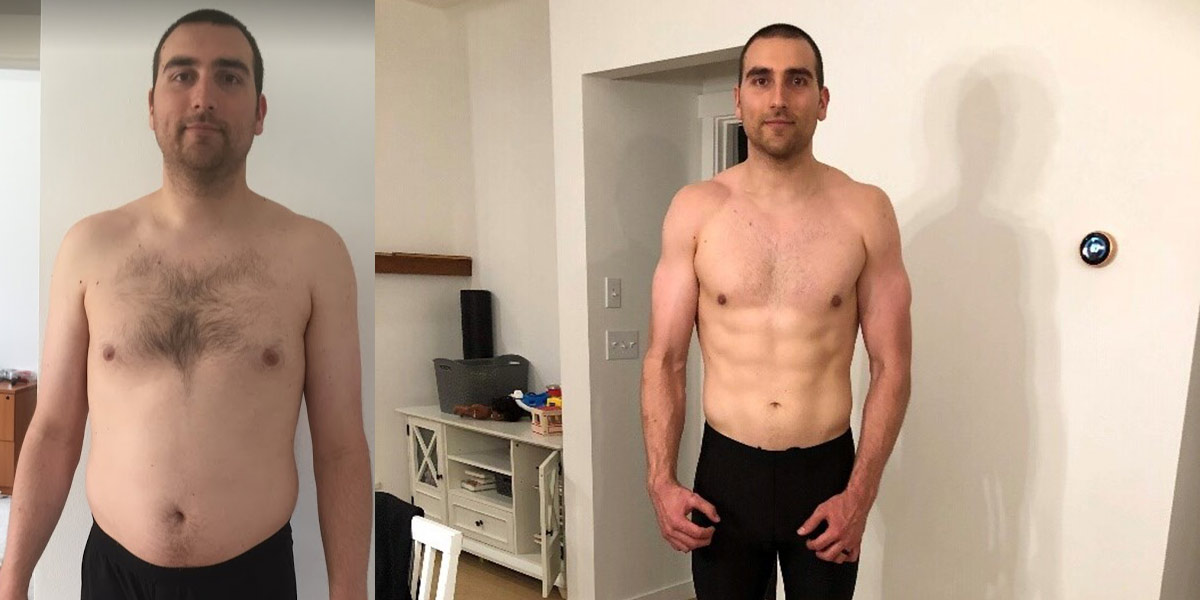 Michael, the Triathlete Makes his Comeback- before and after body composition