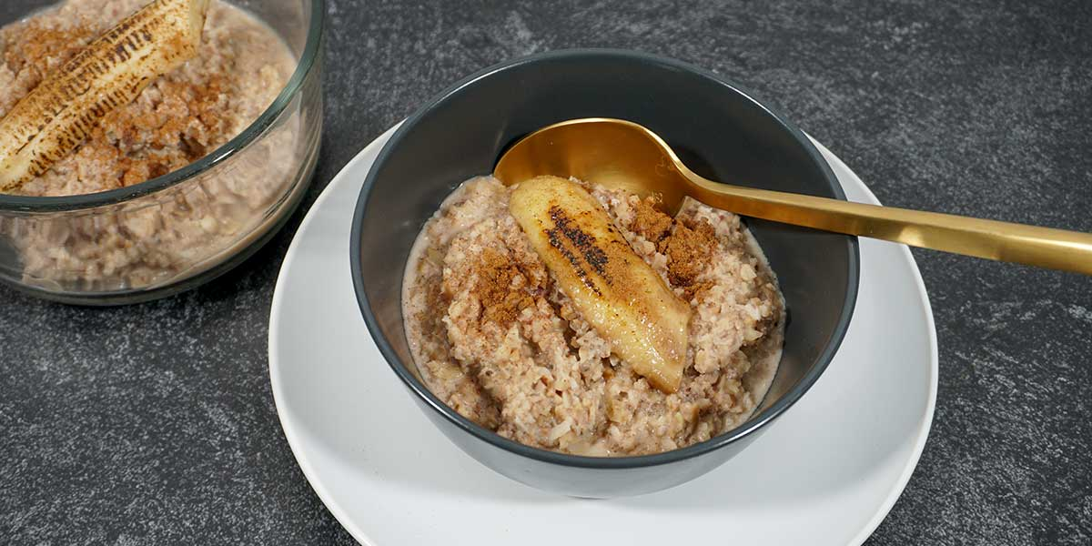 Paleo Porridge with Caramelized Banana Recipe