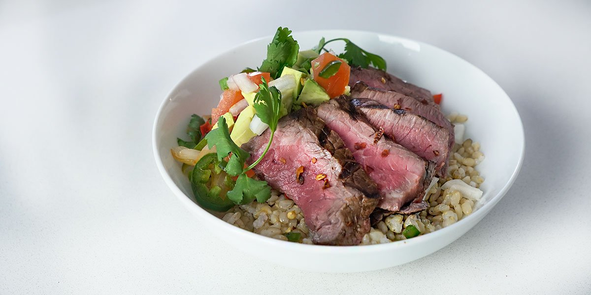 steak fajita bowl recipe
