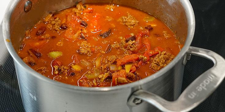 Homemade Vegetarian Chili Recipe