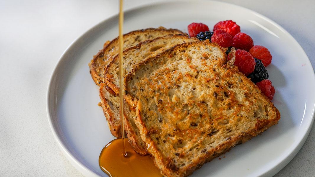 Vegan High-Protein French Toast Recipe
