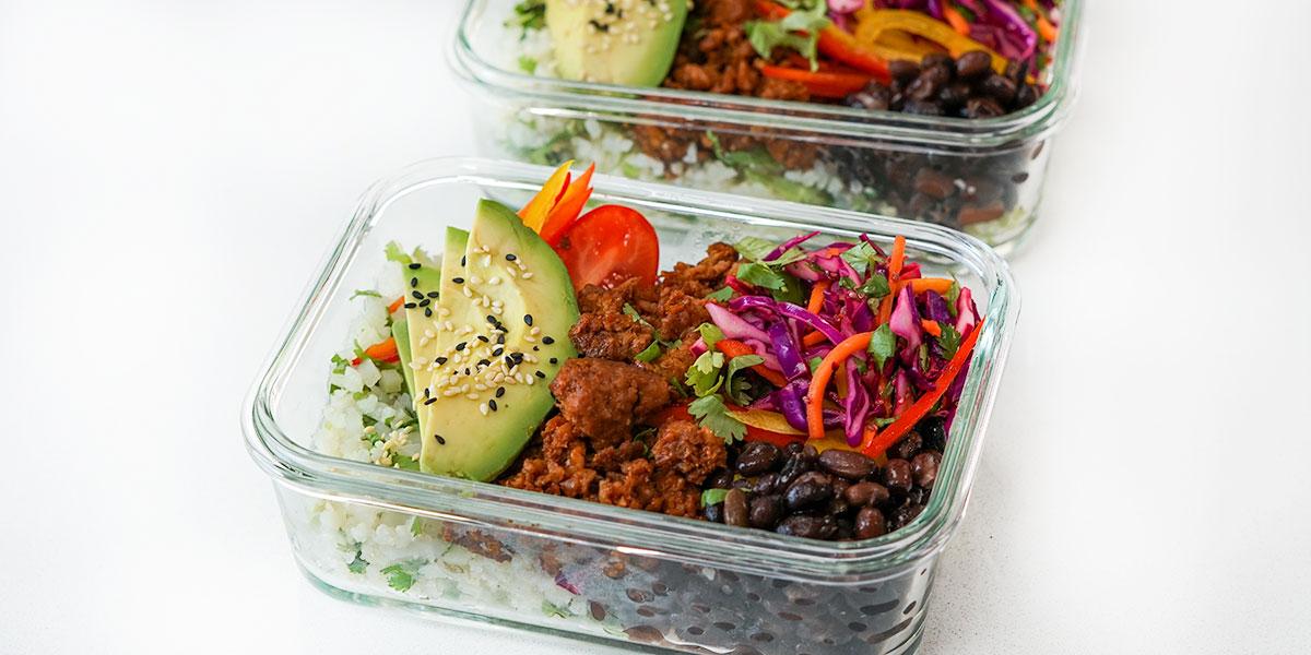 High Protein Vegan Burrito Bowl Recipe