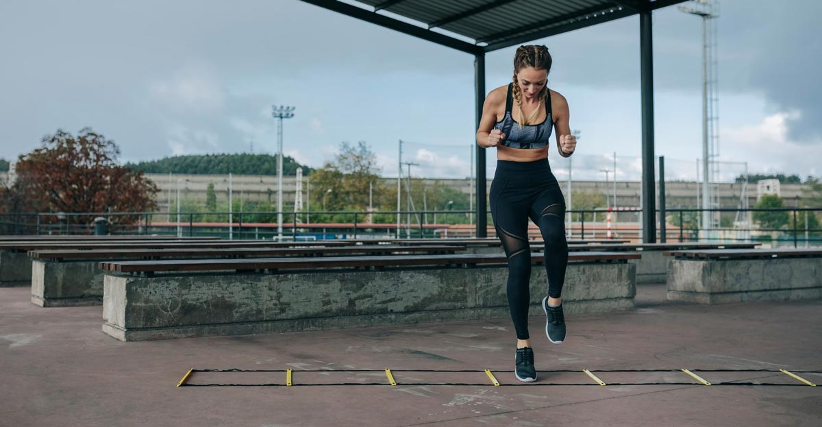 4 Agility Ladder Workouts to Torch Calories