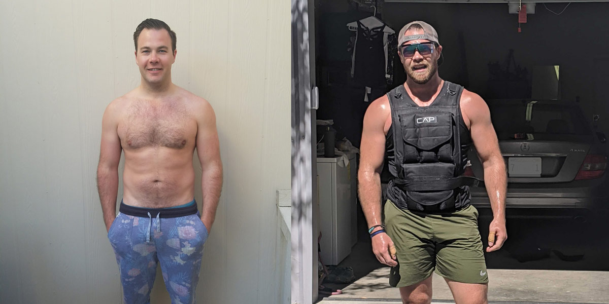 Body Transformation How Jake Gained Muscle & Confidence