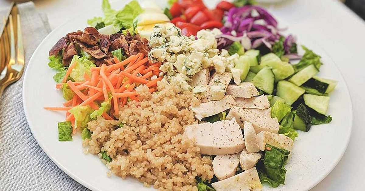 Drool Worthy Chicken Cobb Salad