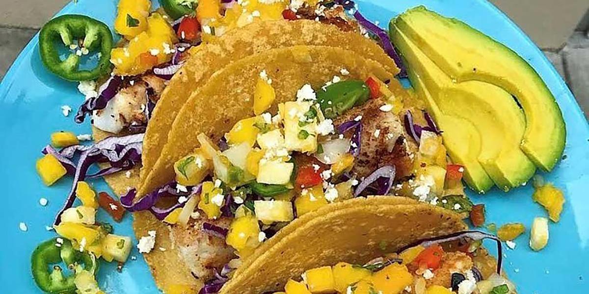 Coconut Crusted Fish Tacos Recipe