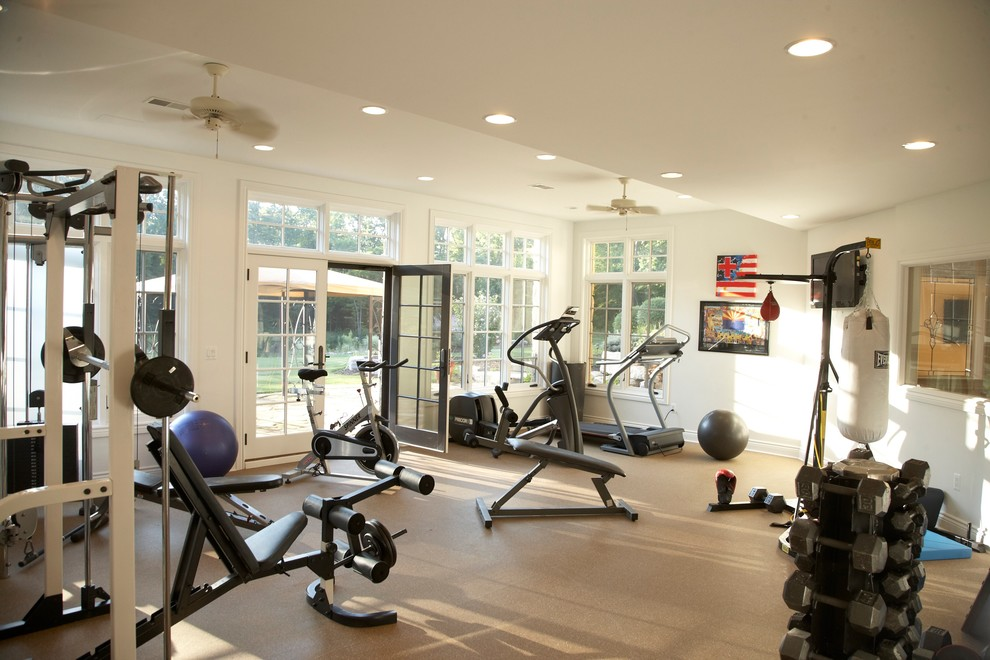 Home Gym Design: The Most Affordable Way To Create An At Home Gym