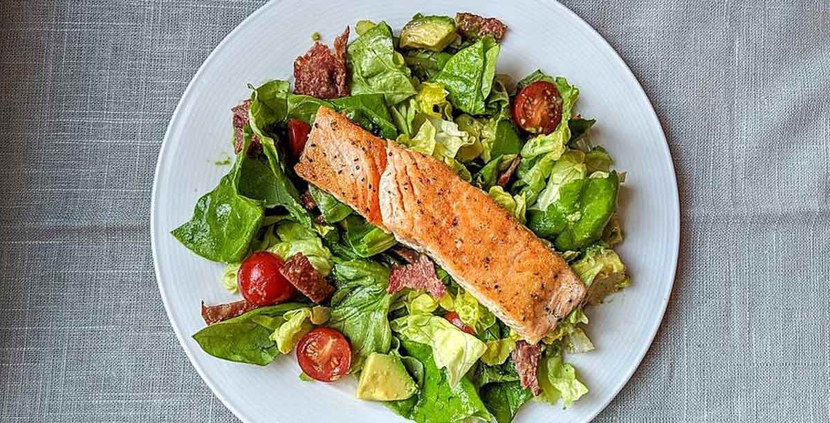 Simple Salmon Salad Recipe