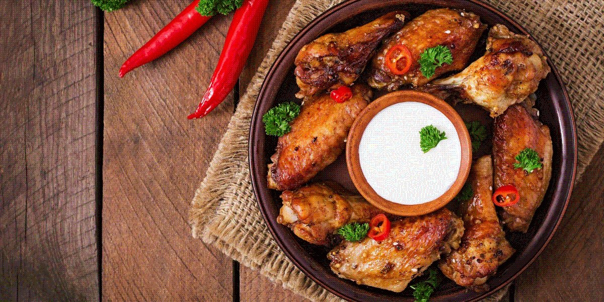 Baked Spicy Chicken Wings Recipe