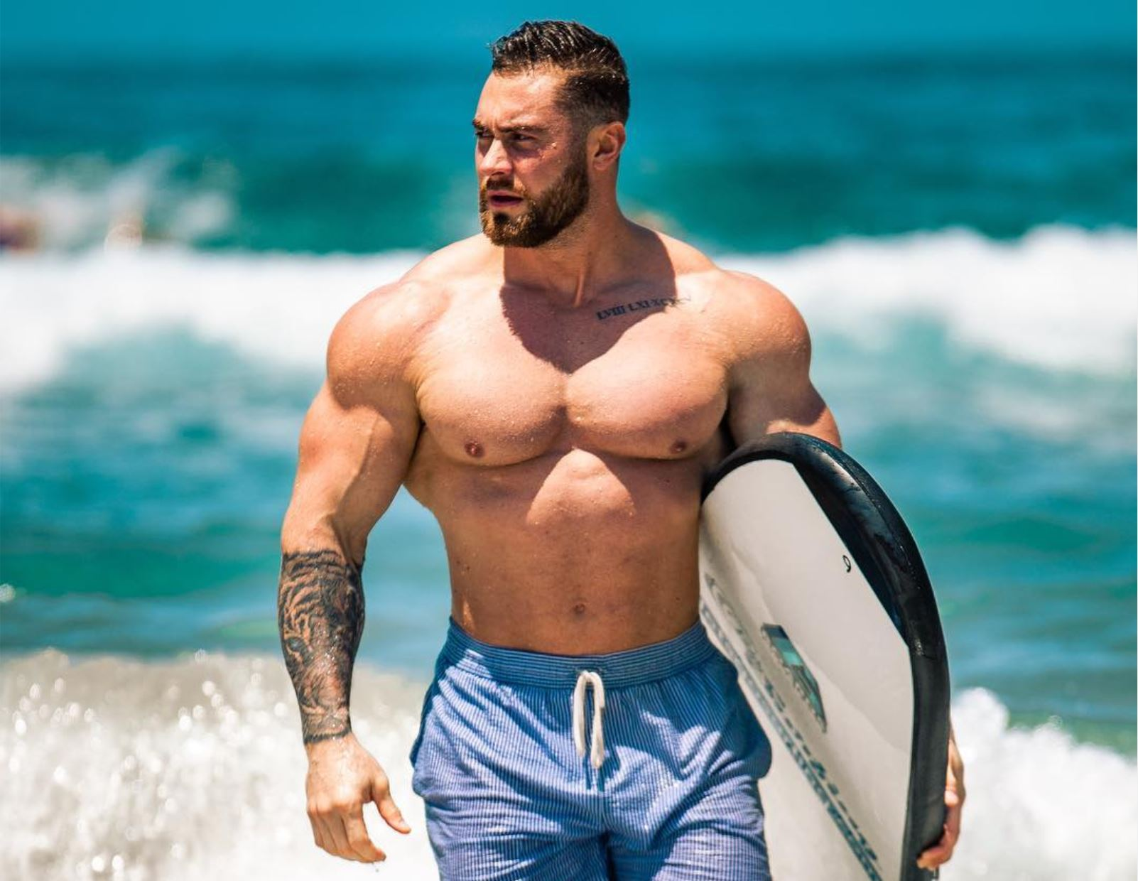 how to gain weight and muscle mass.chris bumstead