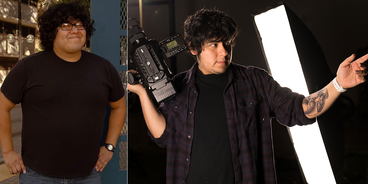 How Javier Lost 80 Pounds on a Vegan Diet before and after comparison
