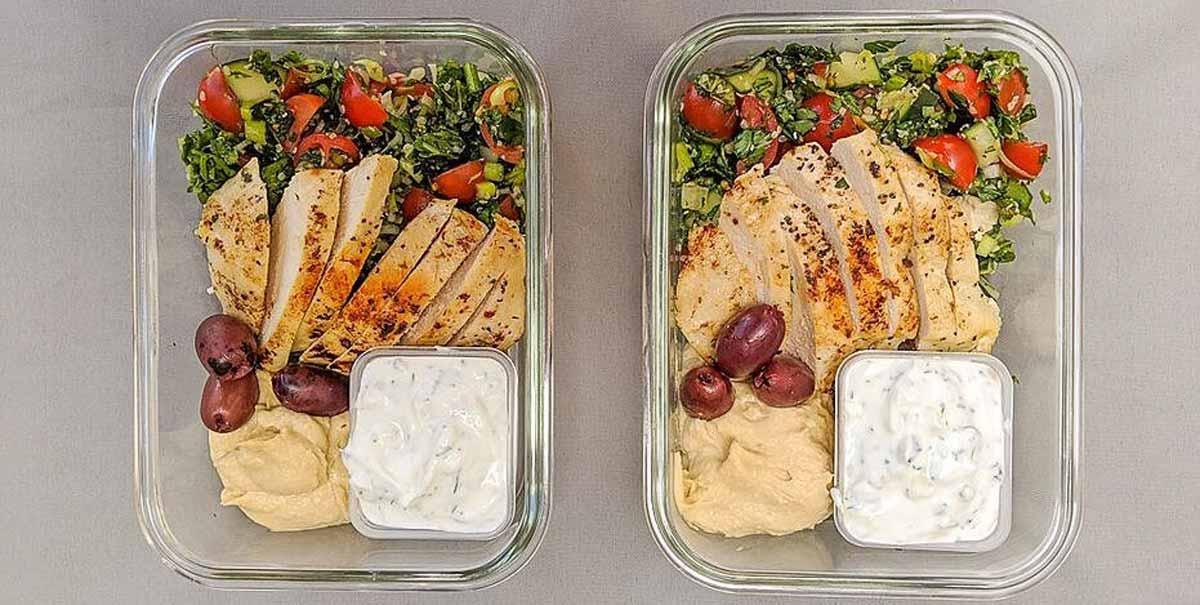 Mediterranean Chicken Platter
