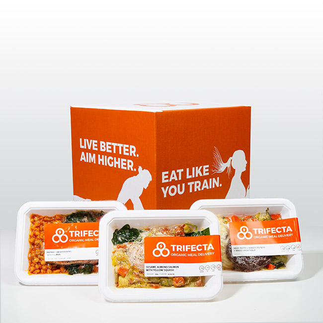 organic meal delivery box