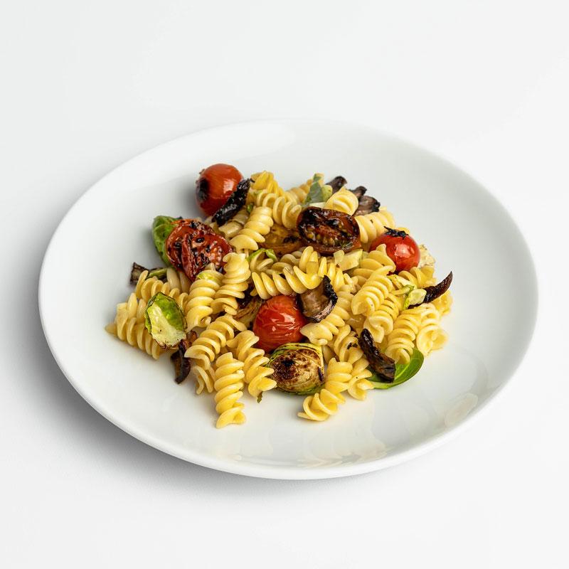 Lemon Garlic Protein Pasta