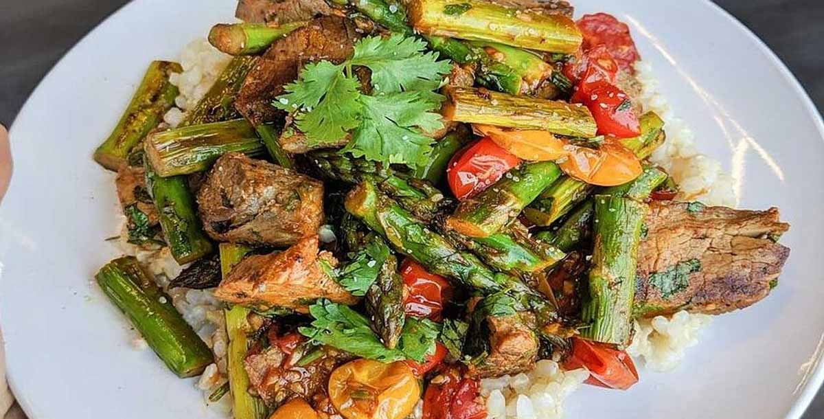 Smoked Paprika Steak Stir Fry Recipe