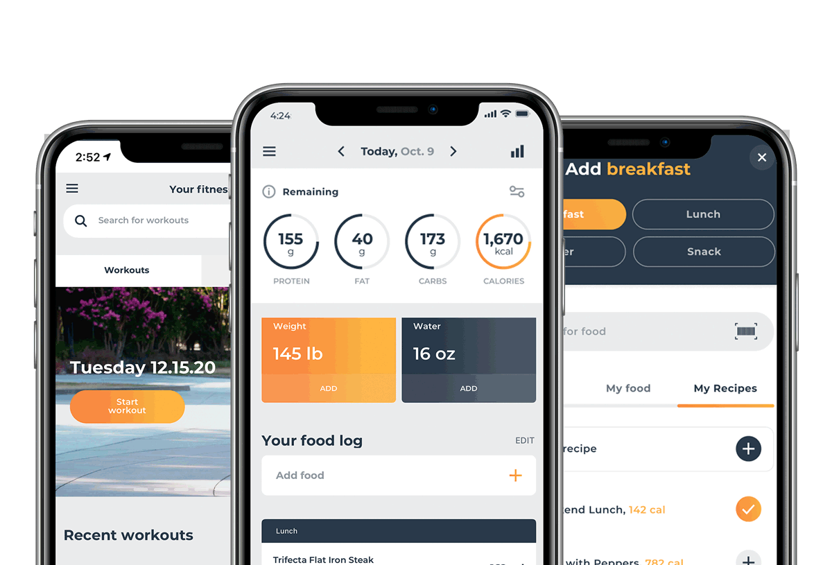 trifecta nutrition tracking app