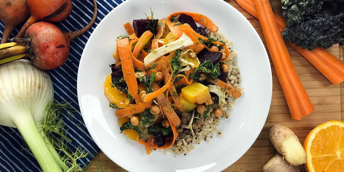 Vegan Tofu Tabbouleh Bowl Recipe