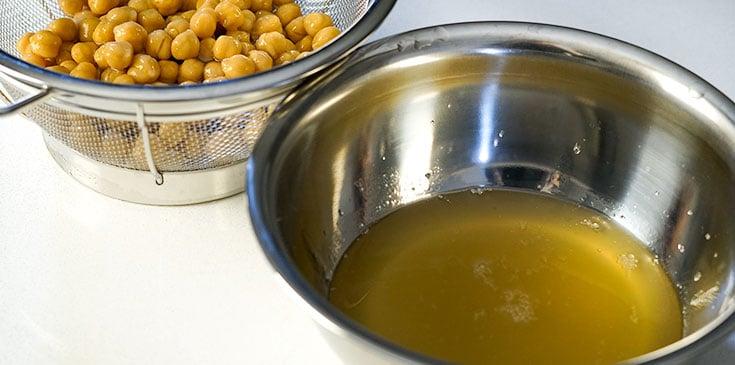 aquafaba base for vegan French toast batter